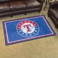 Texas Rangers 4' x 6' Area Rug