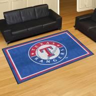 Texas Rangers 5' x 8' Area Rug