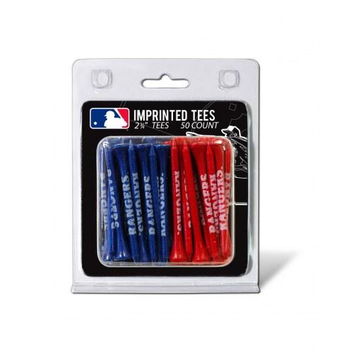 Texas Rangers 50 Golf Tee Pack