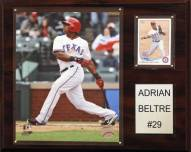 "Texas Rangers Adrian Beltre 12"" x 15"" Player Plaque"