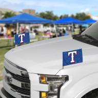 Texas Rangers Ambassador Car Flags