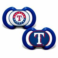Texas Rangers Baby Pacifier 2-Pack