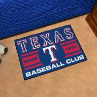 Texas Rangers Baseball Club Starter Rug