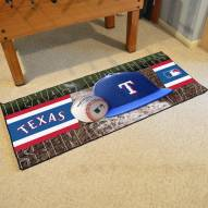 Texas Rangers Baseball Runner Rug