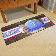 Texas Rangers Baseball Runner Rug