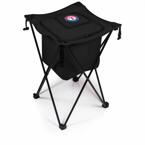 Texas Rangers Black Sidekick Portable Cooler