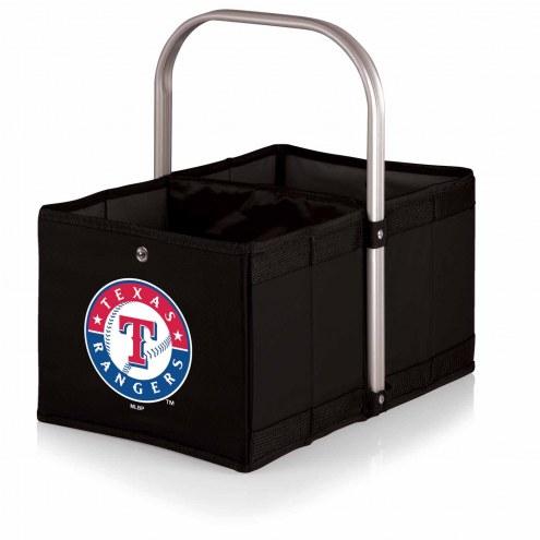 Texas Rangers Black Urban Picnic Basket