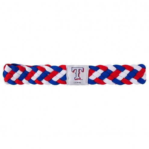 Texas Rangers Braided Head Band