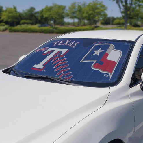 Texas Rangers Car Sun Shade