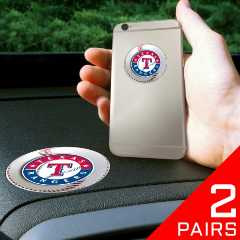 Texas Rangers Cell Phone Grips - 2 Pack