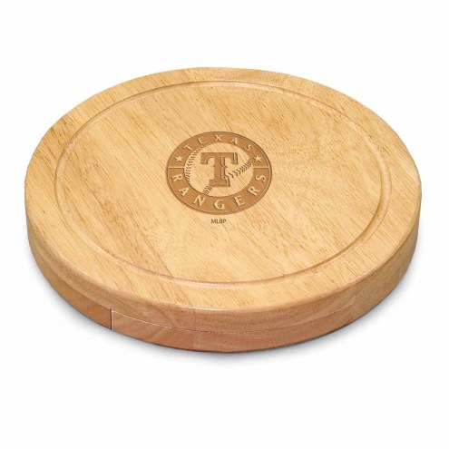 Texas Rangers Circo Cutting Board