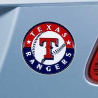 Texas Rangers Color Car Emblem