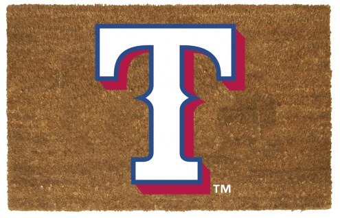 Texas Rangers Colored Logo Door Mat