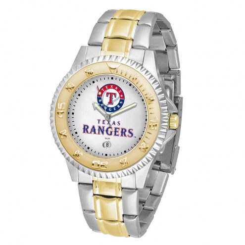Texas Rangers Competitor Two-Tone Men's Watch