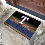 Texas Rangers Crumb Rubber Door Mat