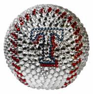 Texas Rangers Swarovski Crystal Baseball
