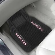 Texas Rangers Deluxe Car Floor Mat Set