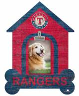Texas Rangers Dog Bone House Clip Frame