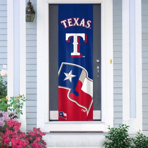 Texas Rangers Door Banner