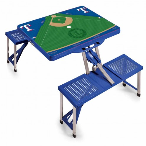 Texas Rangers Folding Picnic Table