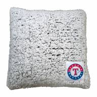Texas Rangers Frosty Throw Pillow