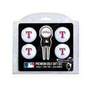Texas Rangers Golf Ball Gift Set