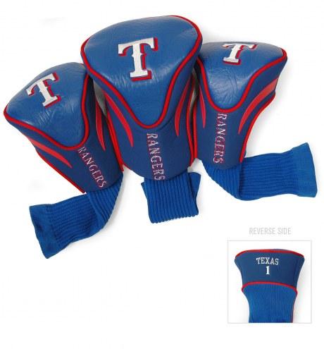 Texas Rangers Golf Headcovers - 3 Pack
