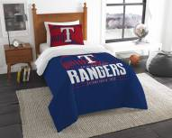 Texas Rangers Grand Slam Twin Comforter Set