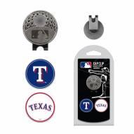 Texas Rangers Hat Clip & Marker Set