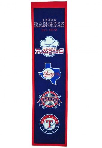Texas Rangers Heritage Banner