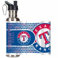 Texas Rangers Hi-Def Stainless Steel Water Bottle