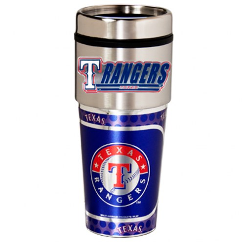 Texas Rangers Hi-Def Travel Tumbler