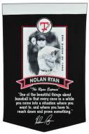 Texas Rangers Nolan Ryan Icon Collection Banner