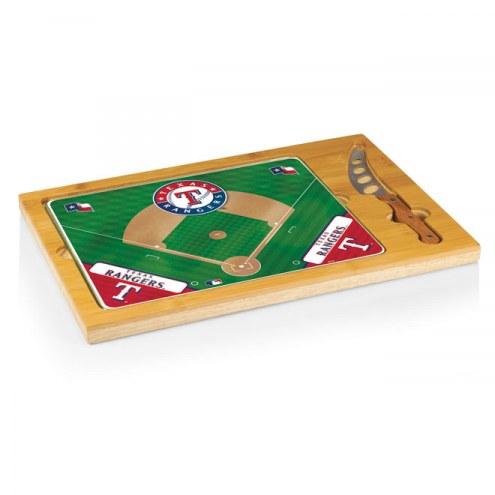 Texas Rangers Icon Cutting Board