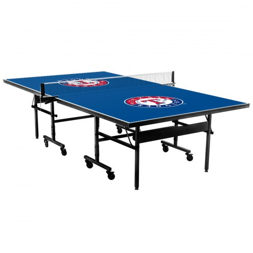 Texas Rangers Indoor Ping Pong Table