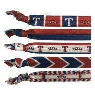 Texas Rangers Knotted Hair Tie