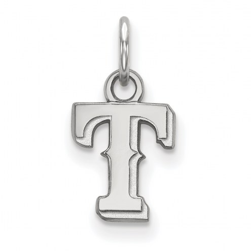 Texas Rangers Sterling Silver Extra Small Pendant