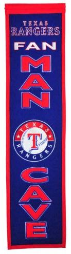 Texas Rangers Man Cave Banner