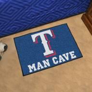 Texas Rangers Man Cave Starter Mat