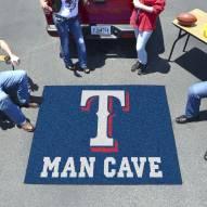 Texas Rangers Man Cave Tailgate Mat