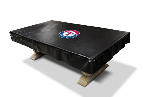 Texas Rangers MLB Pool Table Cover