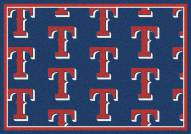 Texas Rangers MLB Repeat Area Rug