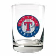 Texas Rangers MLB 2-Piece 14 Oz. Rocks Glass Set