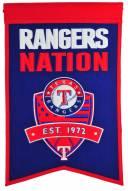 Texas Rangers Nations Banner