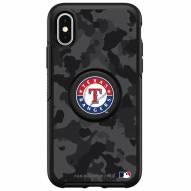Texas Rangers OtterBox Urban Camo Symmetry PopSocket iPhone Case