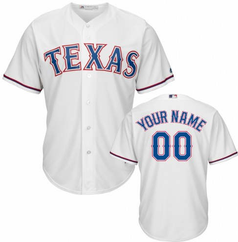 Texas Rangers Personalized Replica Home Baseball Jersey