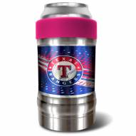 Texas Rangers Pink 12 oz. Locker Vacuum Insulated Can Holder