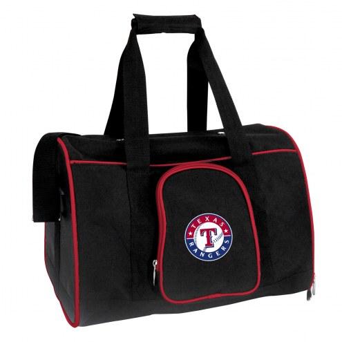 Texas Rangers Premium Pet Carrier Bag