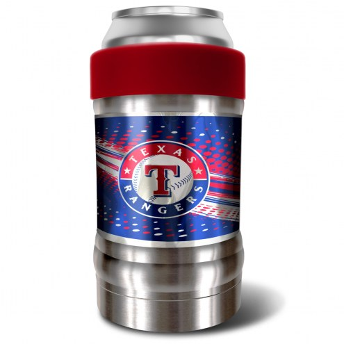 Texas Rangers Red 12 oz. Locker Vacuum Insulated Can Holder