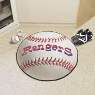 Texas Rangers Baseball Rug